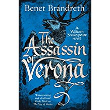 The cover of Benet Brandreth's latest Shakespearean thrill The Assissin of Verona