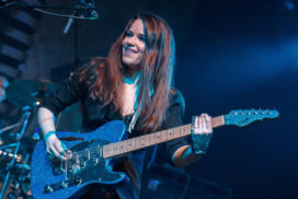 Erja Lyytinen totally lit up The Chester Live Room last night with one of the most electrifying gigs of the year