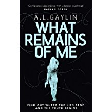 A L Gaylin's What Remains of Me bhook cover
