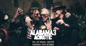 Alabama 3 go Acoustic at The Chester Live Rooms this week