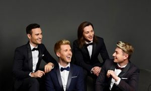 Collabro all set for The Philharmonic Hall in Liverpool