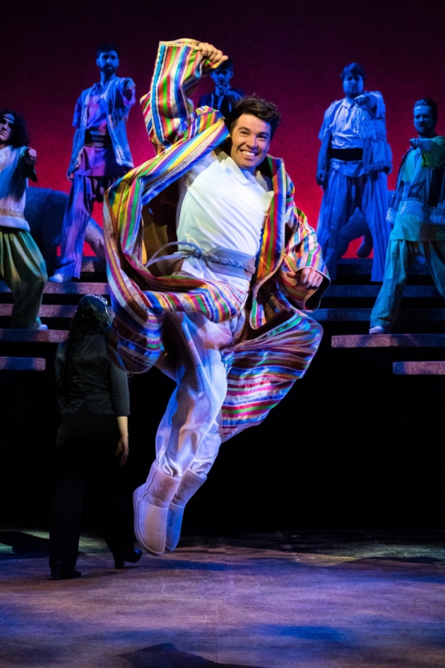 Joseph played by Joe McEldry is at The Liverpool Empire until October 7th, 2017