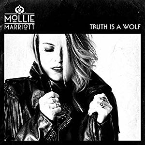 Mollie Marriott's debut album cover for Truth is a Wolf