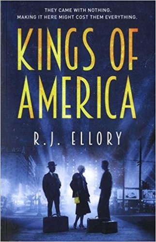 R J Ellory's Kings of America is reviewed by Janie Phillips