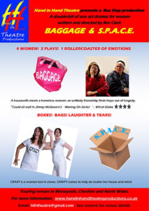 Bags and S.P.A.C.E flyer