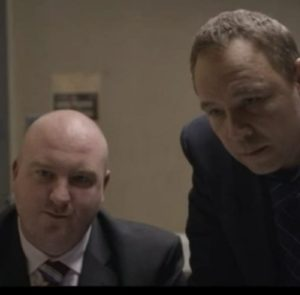 John in Little Boy Blue with Stephen Graham