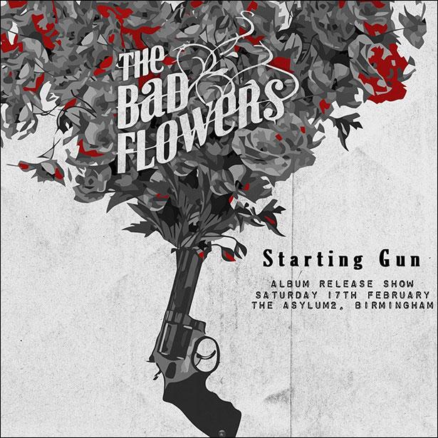 Bad Flowers Starting Gun Cover