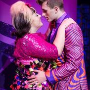Rebecca Mendoza and Edward Chitticks in Hairspray at The Liverpool Empire