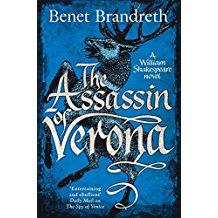 The cover of Benet Brandreth's latest Shakespearean thrill The Assissin of Verona
