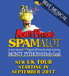 Spamalot is headed to Manchester, Chester and Beyond