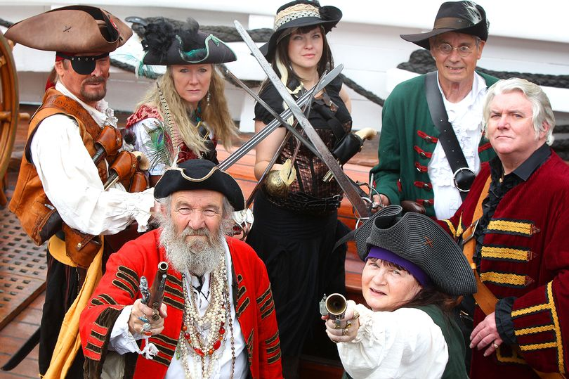 Liverpool's Albert Dock will be taken over by gangs of frolicking pirates this weekend as the annual Pirate Festival 2017 takes place