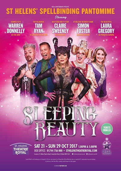 Claire Sweeney stars in St Helens Theatre Royal Half Term Panto, Sleeping Beauty
