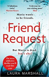 Laura Marchall's debut novel Friend Request