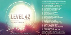 Level 42 2018 Tour Poster