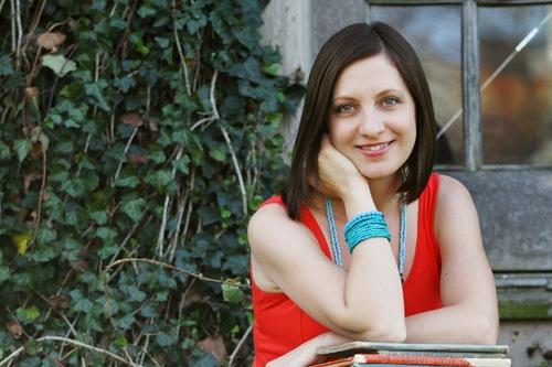 The author Laura McHugh