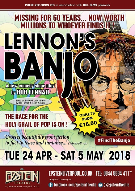 Lennon's Banjo to be fouund at The Epstein in Liverpool in April 2018