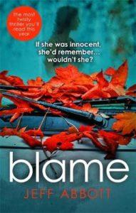 Jeff Abbott Blame Cover