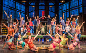 Kinky Boots cast on tour in 2018