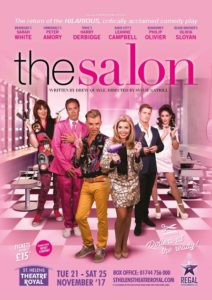 Drew Quayle chats about The Salon at The Theatre Royal St Helens.