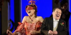 Welsh National Oper's Die Fledermaus at the Liverpool Empire